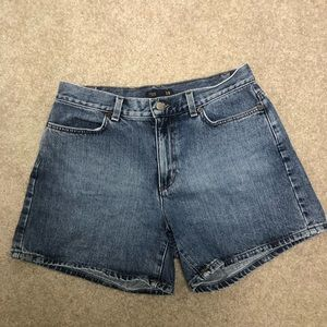 J. Crew high waisted mom jean shorts size 8T